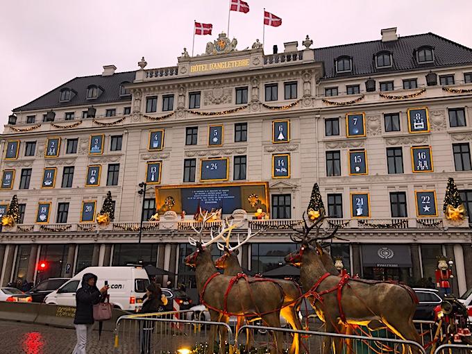 Copenhagen Christmas Hotel D'Angleterre