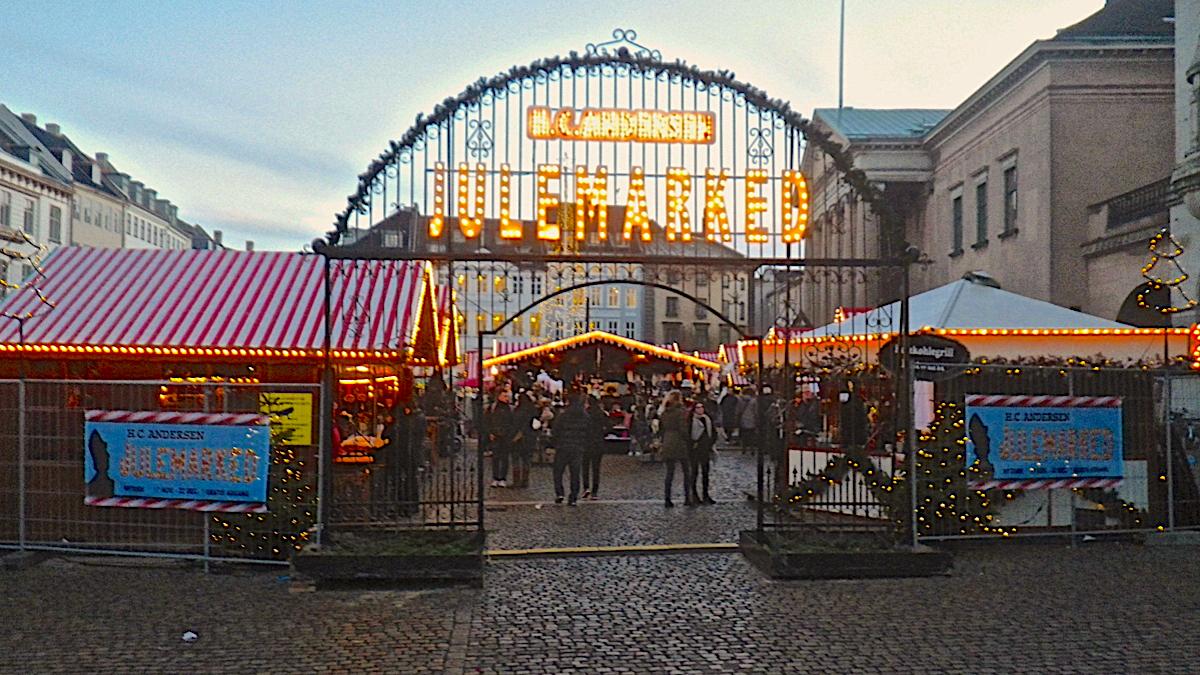 Copenhagen Christmas Market - H.C. Andersen