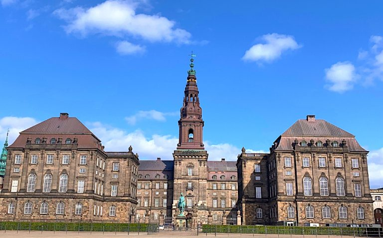 Danish parliament - free tour things to do in Copenhagen