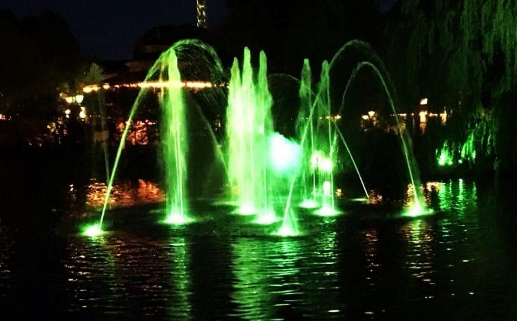 Illumination at Tivoli Gardens Christmas